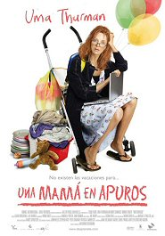 una mama en apuros cartel motherhood poster