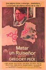 matar a un ruisenor movie poster cartel review to kill a mockinbird