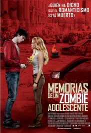 memorias de un zombie adolescente cartel película movie poster warm bodies