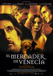 el mercader de venecia cartel pelicula the merchant of venice movie poster