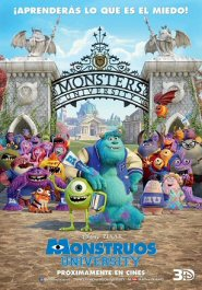 monstruos university cartel poster movie