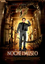 noche en el museo critica de pelicula movie review cartel