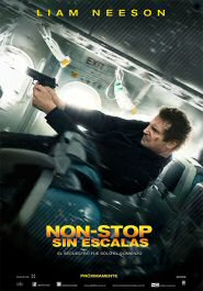 non stop cartel pelicula sin escalas movie poster