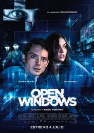 open windows poster cartel pelicula critica