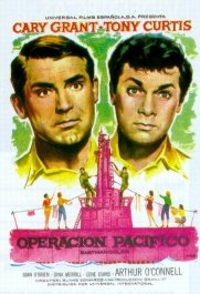 operacion pacifico review cartel poster operation petticoat