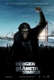 el origen del planeta de los simios cartel movie poster pelicula rise of the planet of the apes