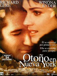 otono en nueva york cartel poster Autumn in new york