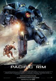 Pacific rim movie cartel poster película review