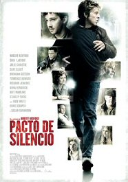pacto de silencio movie poster cartel the company you Keep review