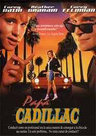 papa Cadillac license to drive movie poster cartel pelicula