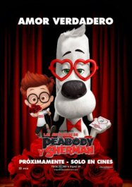 las aventuras de peabody y Sherman movie poster cartel