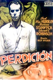 perdicion cartel critica double indemnity movie poster