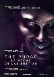 the purge movie poster cartel pelicula