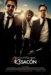 r3sacon hangover part iii movie poster cartel película