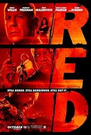 red movie poster cartel pelicula review