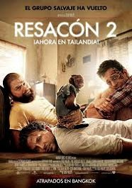 resacon 2 ahora en tailandia movie poster cartel pelicula
