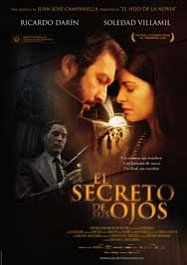 el secreto de sus ojos movie poster cartel pelicula review