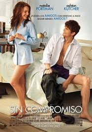 sin compromiso cartel poster no strings attached