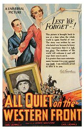 sin novedad en el frente cartel critica poster all quiet on the western front