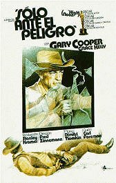 solo ante el peligro high noon movie poster cartel pelicula review