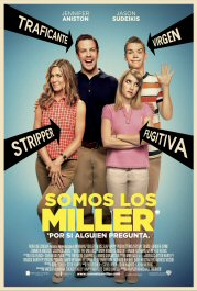 somos los miller cartel poster review movie Were the miller pelicula