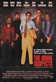 sospechosos habituales cartel pelicula the usual suspects movie poster