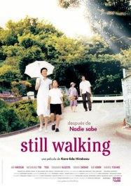 still walking caminando cartel poster pelicula