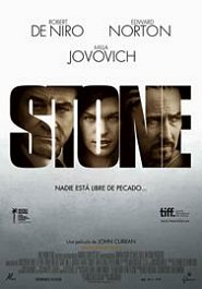 stone cartel poster movie pelicula review