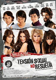 tension sexual no resuelta cartel poster