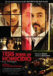 tesis sobre un homicidio cartel poster movie película