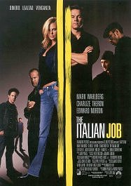 the italian job movie poster cartel pelicula critica