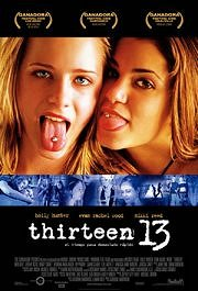 thirteen cartel poster pelicula