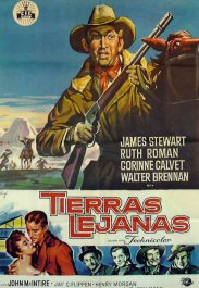 tierras lejanas the far country movie review poster cartel pelicula