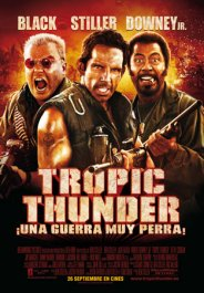 tropic thunder cartel poster