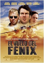 el vuelo del fenix cartel poster flight of the phoenix movie pelicula