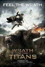 wrath of titans poster movie review