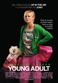 young adult movie poster cartel review pelicula