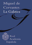 la galatea cervantes cover book libro