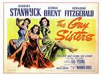 barbara stanwyck movie poster the gay sisters