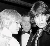 mick jagger marianne faithfull fotos pictures images