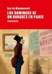 los domingos de un burgues en paris guy de maupassant portada cover book libro