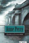 anne perry asesino en la oscuridad cover book libro