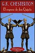 el regreso de don quijote g k chesterton cover book libro