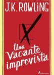 una vacante imprevista j k rowling portada libro critica the casual vacancy review cover Book