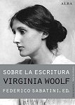virginia woolf sobre la escritura portada book libro
